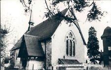UK Surrey Parish church of Tungham RPPC 1980s