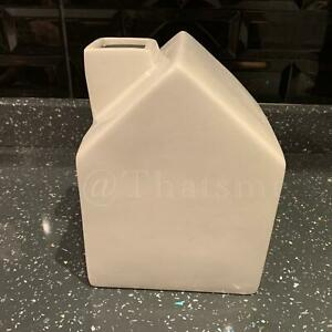 White Ceramic Tissue Box Home/House Napkin Hotel Decoration Tissue Holder Cover