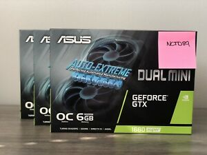 NEW ASUS GeForce GTX 1660 Super OC Dual Fan Evo Edition *IN HAND FREE 2 DAY AIR*