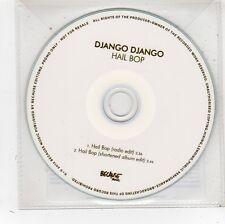 (FV798) Django Django, Hail Bop - 2012 DJ CD