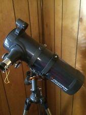 Celestron AstroMaster 114EQ Reflector Telescope Planetarium Software Tripod