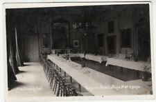 REGENTS PARK COLLEGE - Dining Room - London - c1920s era Real Photo postcard