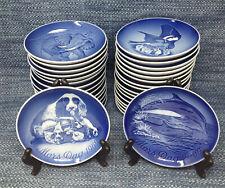 """32 Lot Bing & Grondahl B&G Copenhagen Mothers Day Mors Dag Plates 6"""" 1969-2000"""