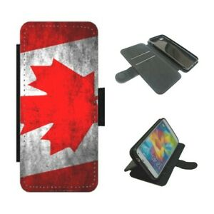 CANADIAN FLAG CANADA Wallet Phone Case Cover For iPhone / Samsung