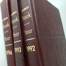 Encyclopedia Britannica  Book of the Year 1992-1994  Volume Set Lot [3]