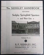 Sedgley Handbook No. 44, 1937 1st edition, Not a Reprint