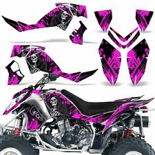 Decal Graphic Kit Polaris Outlaw 500/525 ATV Quad Wrap Deco 2006-2008 REAP PINK