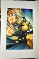 Street Fighter - E HONDA LIMITED EDITION PRINT Capcom Arnold Tsang art