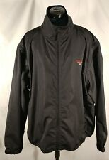 VTG Polo Sport Ralph Lauren black windbreaker convertable sleeve jacket size 2XL