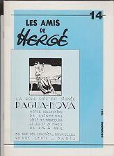 Les Amis de Hergé n°14. décembre 1991.  ETAT NEUF tirage limité.