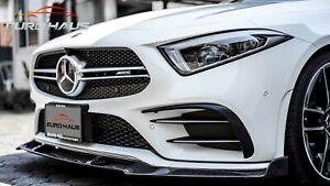 Mercedes Benz CLS53 AMG EH Performance carbon front lip V.2