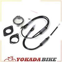 YZ Bmx Bike Gyro Brake Cables Front + Rear (Upper + Lower) Spinner Rotor Set