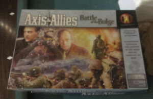Axis & Allies Battle of the Bulge board game * Avalon Hill Unpunched