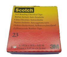 3M Scotch Rubber Splicing Tape 23 - 19mm x 9.15m x .76mm #23