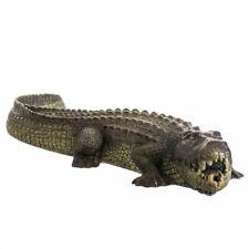 LM Blue Ribbon Exotic Environments Bubbling Alligator Aquarium Ornament
