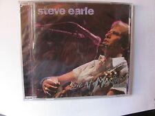 Steve Earle Live At Montreux 2005 CD NEW SEALED