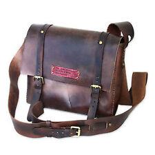 Handmade Men's Leather Messenger/Shoulder Bag