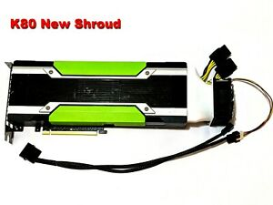 GPU Cooler with High-speed Fan for Nvidia Tesla K80 P100 V100 (Long shroud)