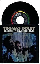 Thomas Dolby Dissidents Search For The Truth bw edit Capitol B 5374 45 single