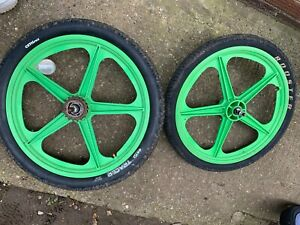 Skyway Wheels Green Not Tuff 2