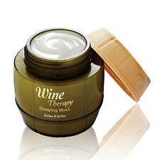 [Holika Holika] Wine Therapy Sleeping Mask # White 120ml Whitening Moist Pack