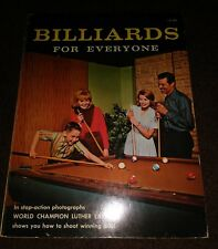 Billiards For Everyone By Fleet Publishing Corp. 1965 Authentic Very Rare