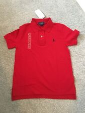 Ralph Lauren Niños Red Camisa Polo Talla 6 años ** L @ @ K ** BNWT