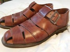 Kenneth Cole Brown Dress Sandals_Shoes_Size 11_Made in Italy