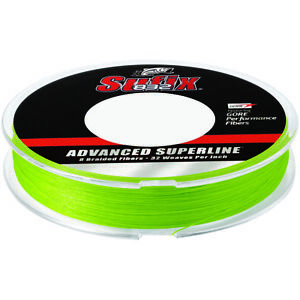 Sufix 150 Yard 832 Advanced Superline Braid Fishing Line - Neon Lime