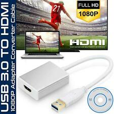 New USB 3.0 to HDMI HD 1080P Video Cable Adapter Converter for HDTV PC