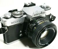 Minolta XD7 35mm SLR Film Camera with F1.7 50mm Prime Lens UK Fast Post