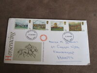 Uk / British  Philately - 1st day cover - 1979 Horse Racing