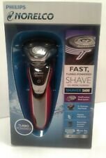 Philips Norelco Electric Shaver 5600 Turbo Powered Red - Brand New Sealed