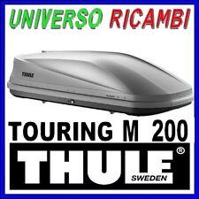BOX TETTO PORTATUTTO AUTO THULE Touring M 200 Titan Aeroskin Dual-Side 400 Litri