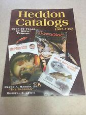 New listing Heddon Catalogs 1902-1953 Fishing Catalog Catalogues