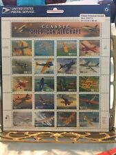 CLASSIC AMERICAN AIRCRAFT STAMP SHEET OF 20/32 cents STAMPS MNH SCOTT #3142a