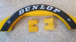 Scalextric Dunlop Bridge C700 & 2x JUMP RAMP Yellow L554