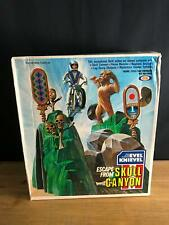RARE VINTAGE 1975 IDEAL EVEL KNIEVEL ESCAPE FROM SKULL CANYON MIB NEW NRFB