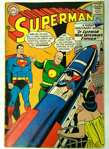 Superman #170 GD/VG 1964 DC Comics If Luthor Was Superman's Father Curt Swan