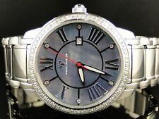 Mens Aqua Master Swiss Movement Blue Dial Diamond Watch