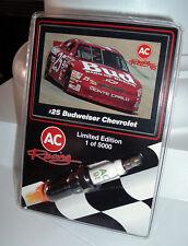 RARE AC Racing 95 Ken Schrader Spark Plug & Card - MINT