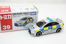 Takara Tomica Tomy #39 British Police Type UK Scale 1/61 Mini Diecast Toy Car