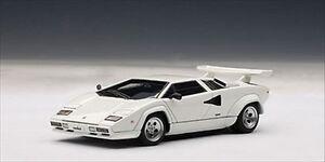 Lamborghini Countach 5000 S WHITE WITH OPENINGS 1/43 AUTOART 54533