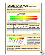 Energiepass ,Bedarf  Energieausweis, 10 Jahre gültig, Bedarfsenergieausweis