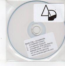 (DS470) Benin City, Accelerate - 2012 DJ CD (MP3 Tracks)