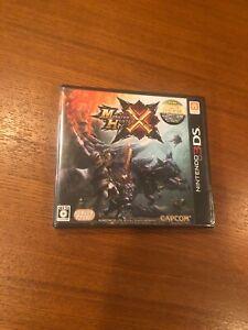 Monster Hunter X Cross  Brand new Still sealed Import Japan 3DS Japanese Game