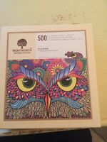 Wentworth 500 pce Wooden Jigsaw Puzzle 'It's A Hoot'