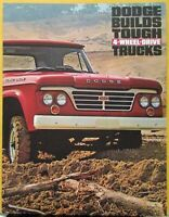 1963 Dodge 4WD Truck Pickup Sweptline Utiline Wagon Military Chassis Sale Folder