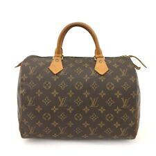 100% Authentic Louis Vuitton Monogram Speedy 30 Boston Travel Hand bag /40615