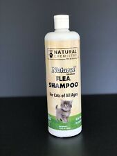 Natural Chemistry Natural Flea Shampoo For Cats 16.9oz~New & Sealed